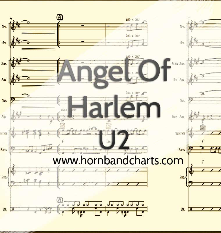 Angel of Harlem – U2