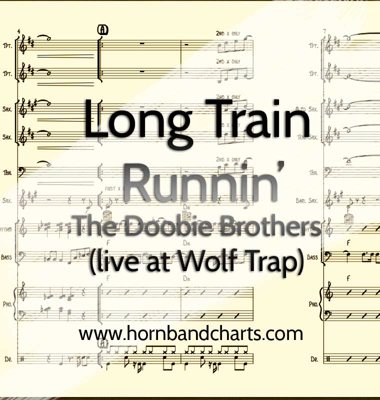 Long Train Runnin Live At Wolf Trap Horn Chart The Doobie Brothers
