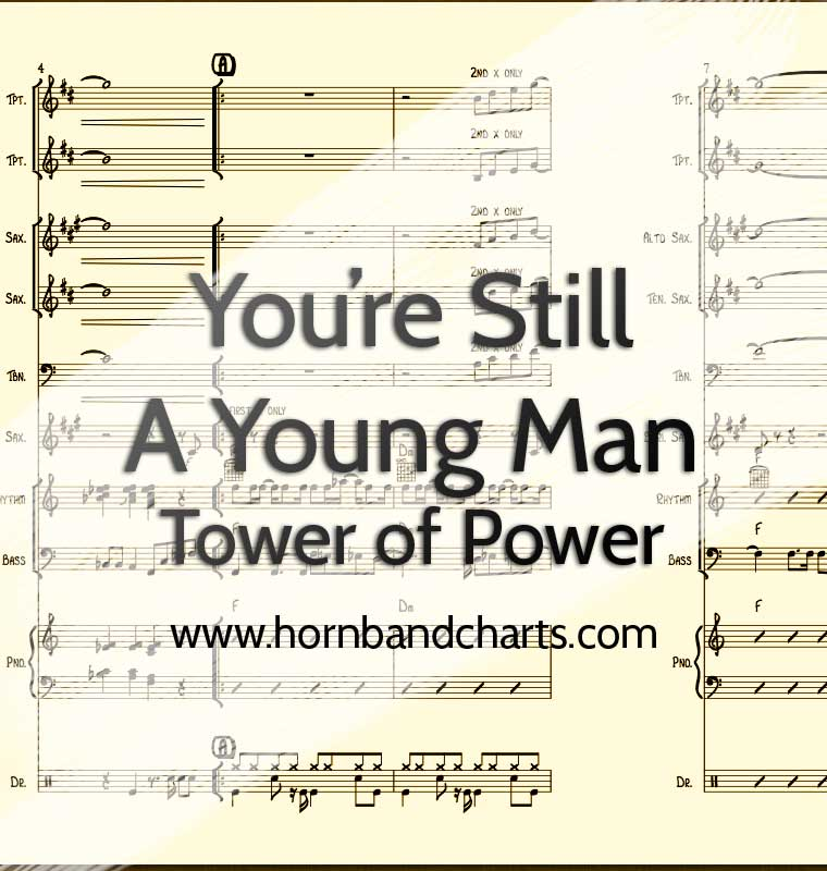 Youre Still A Young Man Horn Chart Pdf Horn Band Charts