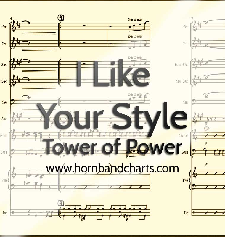 I Like Your Style – Tower of Power