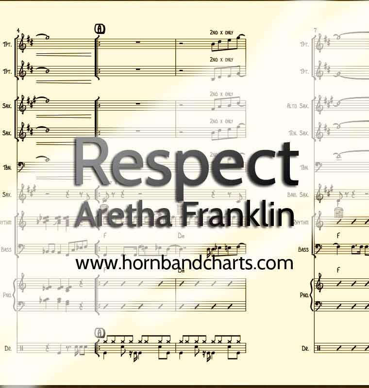Respect Horn Chart PDF - Horn Band Charts