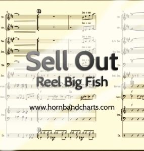 reel big fish sell out bass tab