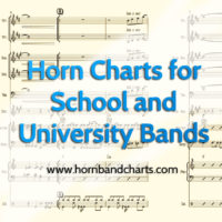 Horn charts for school bands